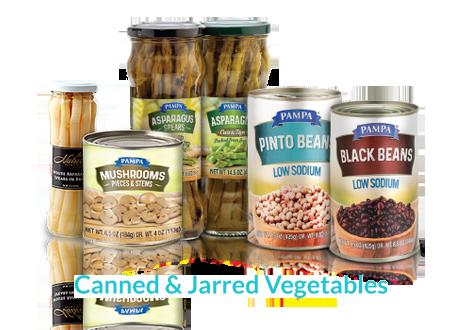 Canned & Jarred Vegetables