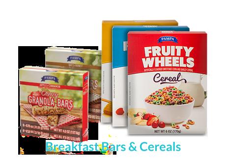 Breakfast Bars & Cereals