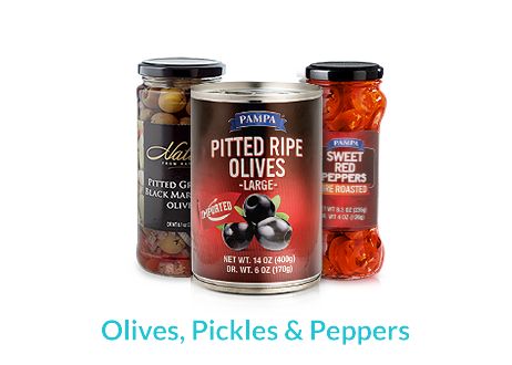 Olives Pickles & Peppers