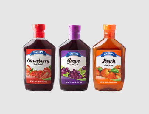Pampa Grape, Peach and Strawberry Squeeze Jelly
