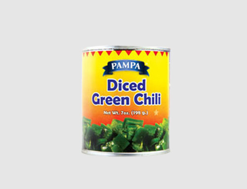 Pampa Diced Green Chillies
