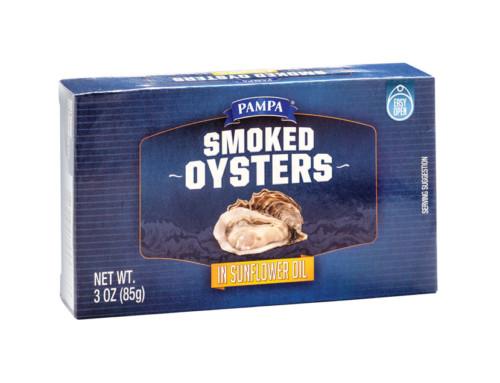 Pampa Smoked Oysters