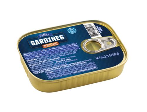 Pampa Sardines in Mustard Sauce