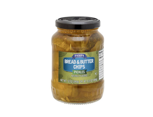 Pampa Bread & Butter Chips Pickles