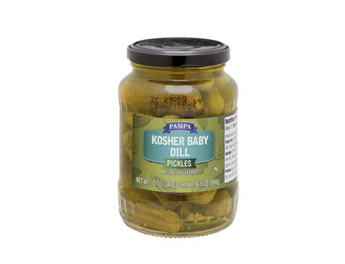 Pampa Kosher Baby Dill Pickles