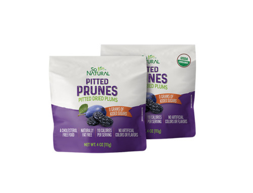 So Natural Pitted Prunes