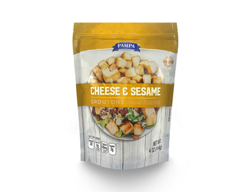 Pampa Cheese & Sesame Croutons