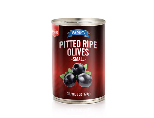 Pampa Pitted Ripe Olives Small