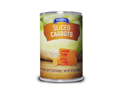 Pampa Sliced Carrots