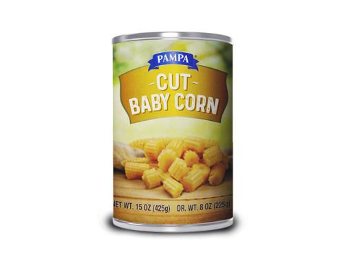 Pampa Cut Baby Corn
