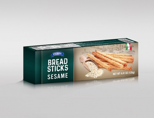 Pampa Bread Sticks Sesame