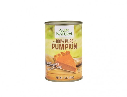 So Natural 100% Pure Pumpkin