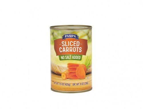 Pampa Sliced Carrots